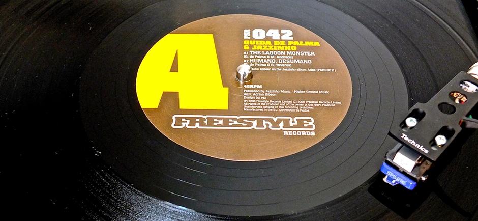 "Jazzinho 12"" rmx by Nicola Conte on Freestyle"
