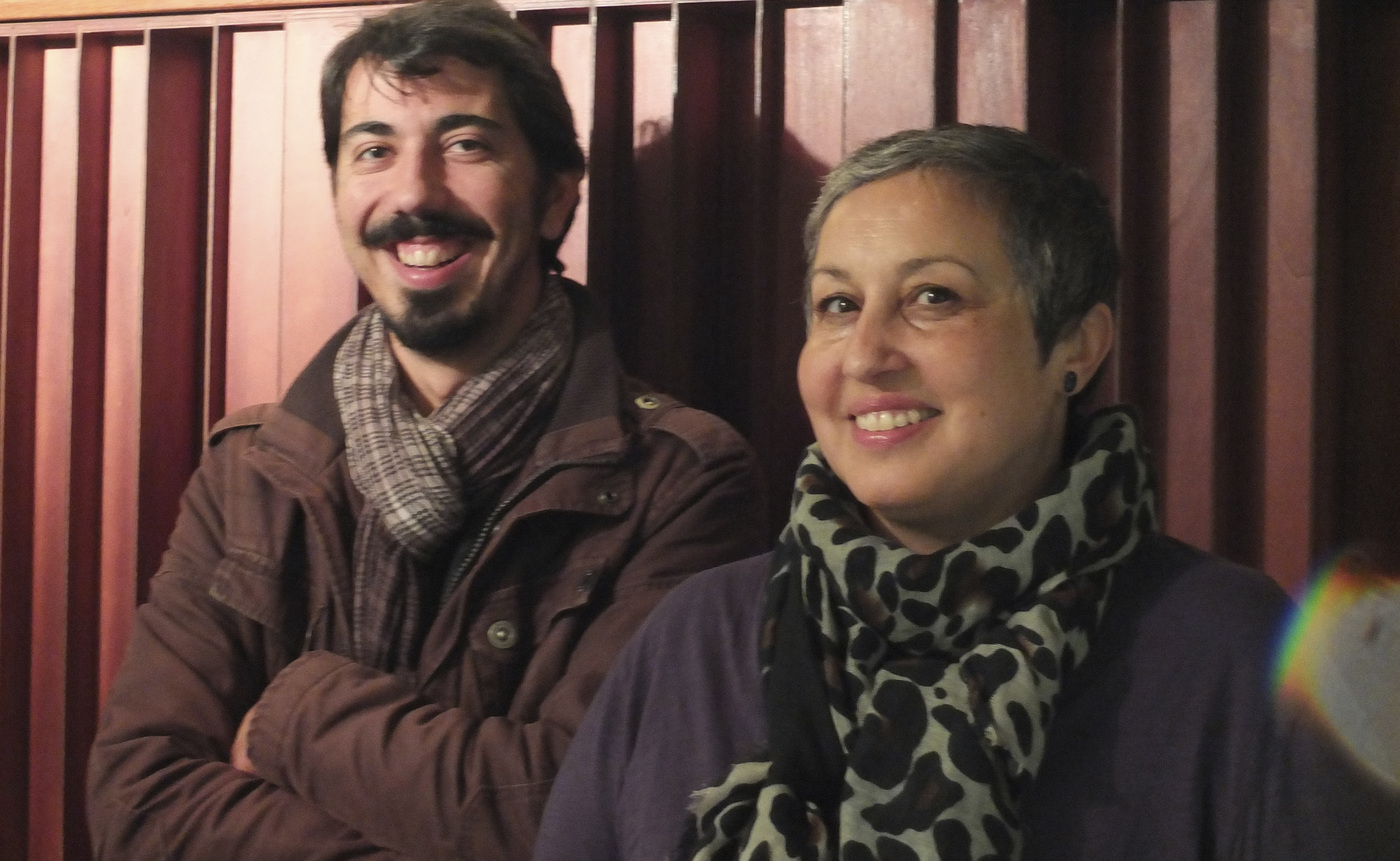 Guida de Palma and Luis Barrigas
