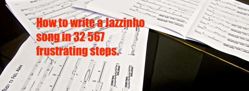 How to write a song in 32 567 frustrating steps