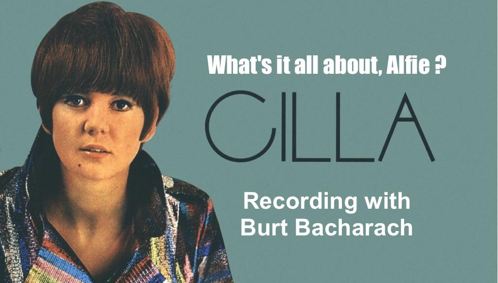 Cilla Black and Burt Bacharach Recording Alfie at Abbey Road Studio